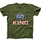 AFONiE US Flag King Kids T-Shirt