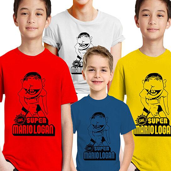 buy jeffy the puppet t shirt super mario logan sml by afonie on opensky