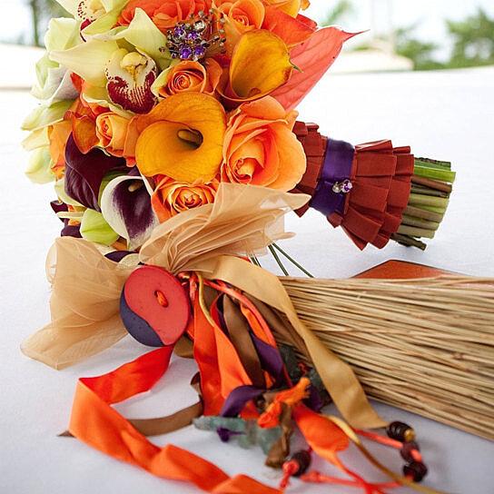 Wedding Broom Ideas: Buy Custom Decorated Wedding Broom By A Gift 4 You! On OpenSky
