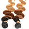 1PCS 100% Brazilian Humen Hair Body Wave Ombre Color 1B / 4/27 Wig For Women Free DHL Shipping