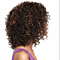 African small roll wigs foreign trade European and American women and black
