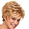 Synthetic Hair Short Curly Cosplay Wigs Purple Blonde Hiar
