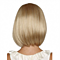 Wigs bobo head golden short hair straight hair sets