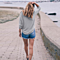 Autumn Women Long Sleeve Knitted Sweater Pullovers