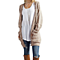 Casual Long Sleeve Computer Knitted Long Cardigan  Sweater