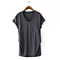 Casual Loose Solid Women's Short Sleeve T Shirt
