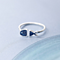 Chic Women's Whale Pattern Adjustable Ring