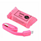 Cute Candy Pack 2.1A Micro USB Charging Sync Data Cable Fast Charger For Iphone