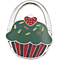 Cute Cupcake Handbag Hook Purse Holder Desk Anti-Slip Tote Bag Hanger