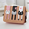 Cute Fresh Cat  Meow Small Wallet  Coin Purse With Card Holders