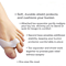 Double Loop Bunion Shield - Double Loop Provides Relief and Stability From the Pain of Bunions