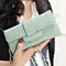 Fashion Long Style Large Capacity Wallets Fresh Zipper Hasp Purse