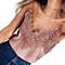Fashion Women Sexy Tank Tops Lace Vest Top Crochet Basic Tops Camisole Sleeveless Shirt Blouse