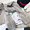 High Quality Mulberry Silk Long Scarves Shawl Solid Color - Gray