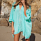 Hollow Sexy Swimsuit Cover up Beach Tunic Plage Beachwear Cover-Ups