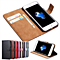 Leather Case For iPhone 7 / 7 Plus Wallet Flip Cover Phone Bag Case For Apple iPhone 7 Plus Stand With Card Holder