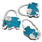 New Design Handbag Hook Elephant Purse Holder Desk Anti-Slip Tote Bag Hanger Wall Hooks Portable Alloy Hook