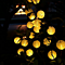 Outdoor Fairy Lantern Solar String Lights 5M 20 Leds Christmas Globe Lights Indoor Outdoor Home Garden Decoration