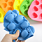 Pineapple Ice Cube Tray Silicone Mold Ice Maker Mould Reusable Ice Cubes Maker ( Random Color )