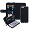 Practical Multifunction Removable Purse Zipper Wallet PU Leather Cell Phone Case