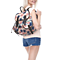 Retro Vintage High Quality Pineapple Print Canvas Backpack Travel Bag