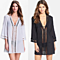 Sexy Ladies Women Beach Wear Bikini beach Cover Ups Hollow Out Crochet Lace Beach Tunic