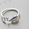 Silver Whale Rings for Women New Design