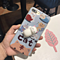 Squishy Sleeping Cat Soft Phone Cover for Apple iPhone 6 6s Plus 6plus 7 7Plus Lovely Kitty Cases
