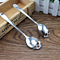 Stainless Coffee Spoon Skull Dessert Spoon Food Grade Stainless Ice Cream Candy Tea Spoon Tableware ( Buy  1 Get  1 Free )