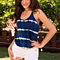Summer Beach Vest Ladies Crop Tank Top Tie Dye Camisole