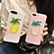 Summer Pineapple Embroidery Iphone 6 6s Plus & 7 7Plus  Cover Case