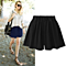 Summer Women Loose Casual High Waist Wide Leg Short Pants In Plus Size