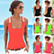 Summer Women's Sleeveless Slim Vest Tank Top