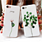 The New Creative Plant Print Leaves Flower Pattern Iphone 7 7  Plus & 6 6s Plus Cover Case