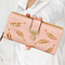 The New Fashion Hollow Leaf Pattern Women's Wallet Card Purse