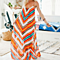 The New Rainbow Stripes Strap Spaghetti Long Maxi Dress
