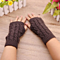 Unisex Men Women Arm Warmer Fingerless Knitted Long Gloves Cute Mittens (Buy 1 Get  1 Free)