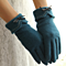 Women Gloves Wool Knitted Winter Gloves Lacy Hand Warmer Ladies Mitten