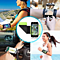 "Wristband 180°Rotatable Phone Holder Forearm Armband  Jogging Running Compatible with 4.0""-6.2"" Smartphone"