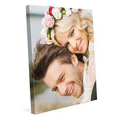 Your Photo or Art on Custom Canvas Print Stretched over Wooden Frame