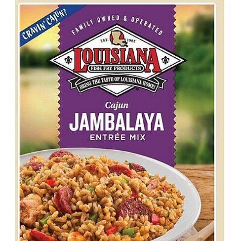 Buy 3 Louisiana Fish Fry: Cajun Jambalaya Entrée Mix (7.5 oz boxes ...
