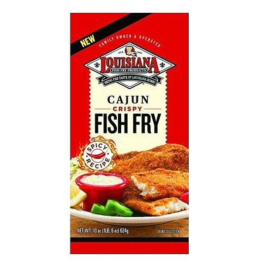 Buy louisiana crispy cajun fish fry 3 three 10oz for Cajun fish seasoning