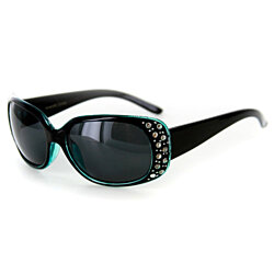 """Oceana"" Polarized Sunglasses with Crystals for Women"
