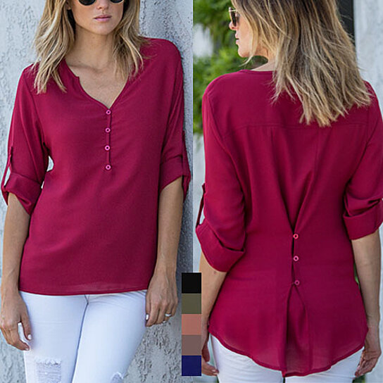 42a656c7e71b81 Buy Simple Sophisticated 2-in-1 Blouse by Amaryllis on OpenSky
