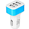Car Charger Premium 3-Ports SmartID USB Charger