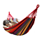 Outdoor Cotton Hammocks Double 2 Person Portable Compact Travel Camping Hammock with Tree Ropes