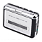 Super USB Cassette-to-MP3 Player Converter With USB Cable, Headphones and Software