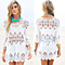 White Crochet Lace Embroidered Beach Cover Up