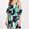 Women Summer Off Shoulder Floral Dress