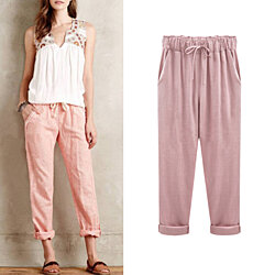 Womens Cotton Pants